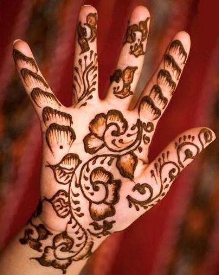 Mehndi Patterns Kids : Mehndi design designs for kids