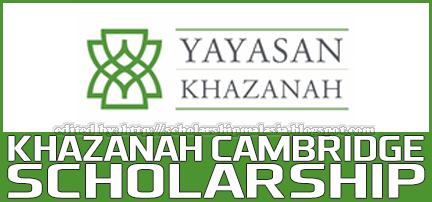 Khazanah Cambridge Scholarship Undergraduate 2014