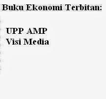 Buku Ekonomi Penerbit: UPP AMP, Visi Media Online Murah