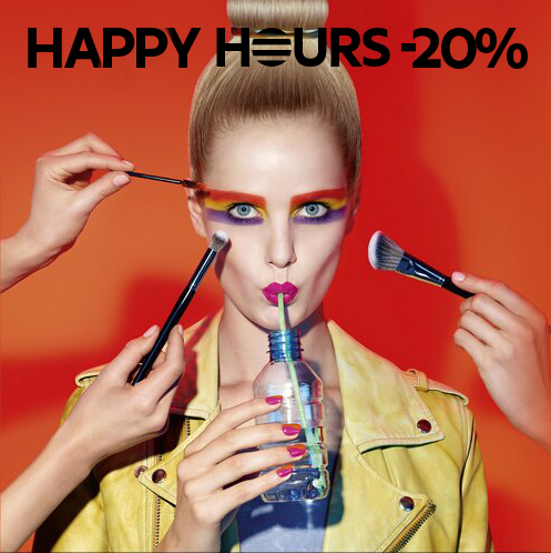 Sephora - Happy Hours -20%