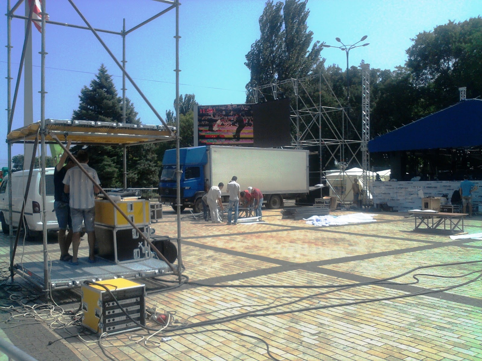 День спорта в Керчи