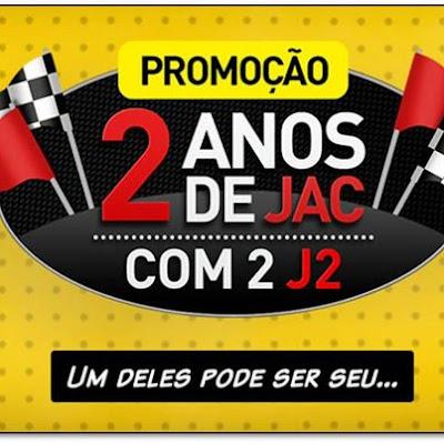 Promoção Jac Motors 2 Anos