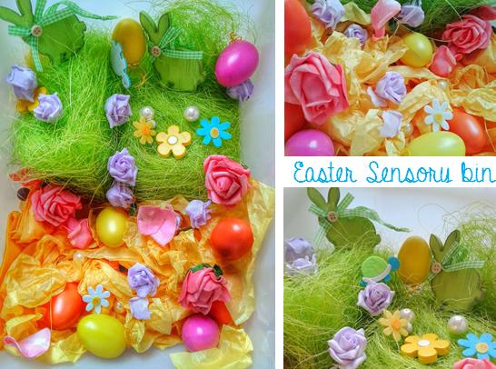 Welcome to Mommyhood: Easter sensory bin