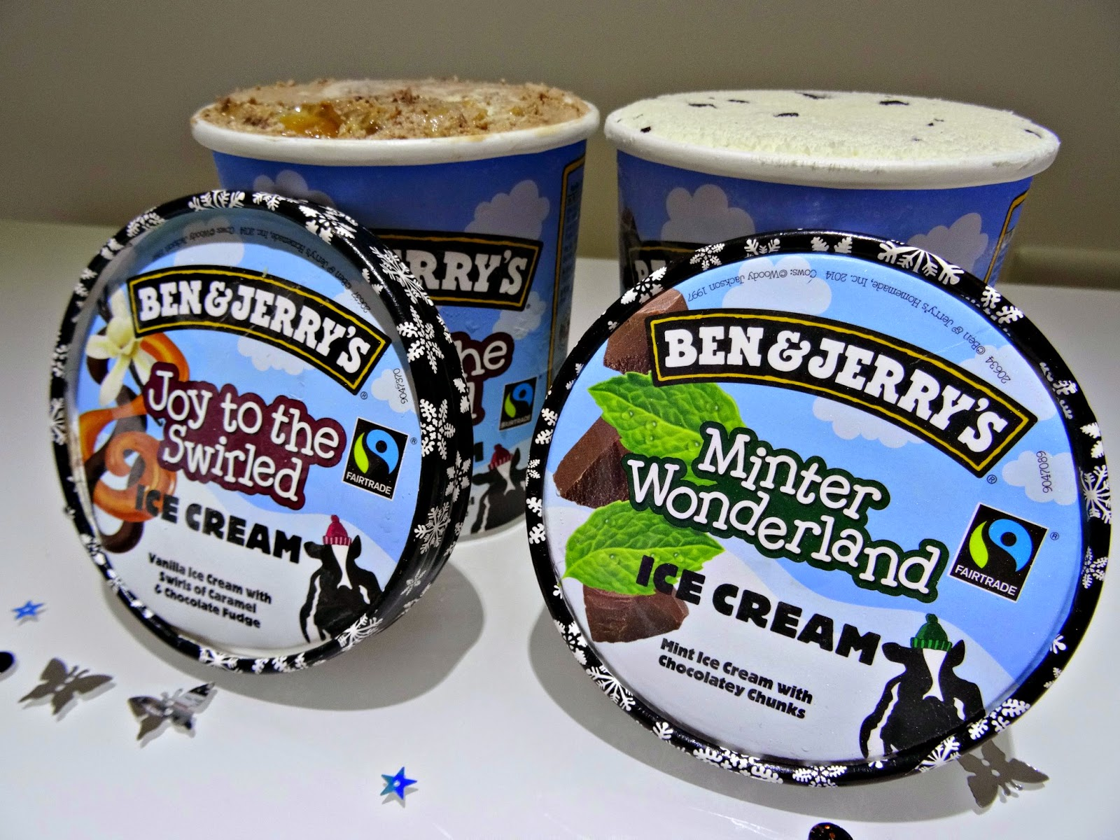 Ben and Jerrys limited winter editions