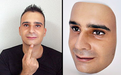 Mask that looks and feels like your face