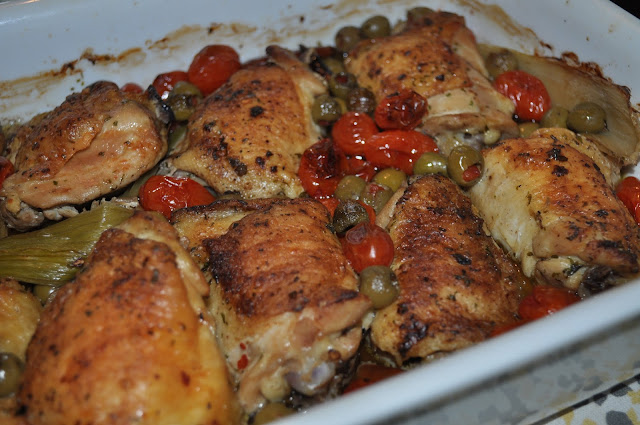 weeknight meals, meals, quick, easy, chicken, recipes, saute, seared, cherry tomatoes, olives, dishes, cooking, budget