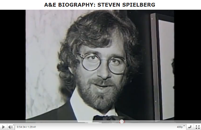 steven spielberg biographical sketch Prominent contemporary filmmakers such as steven spielberg,  while most of the books written about truffaut contain a biographical sketch  françois truffaut.