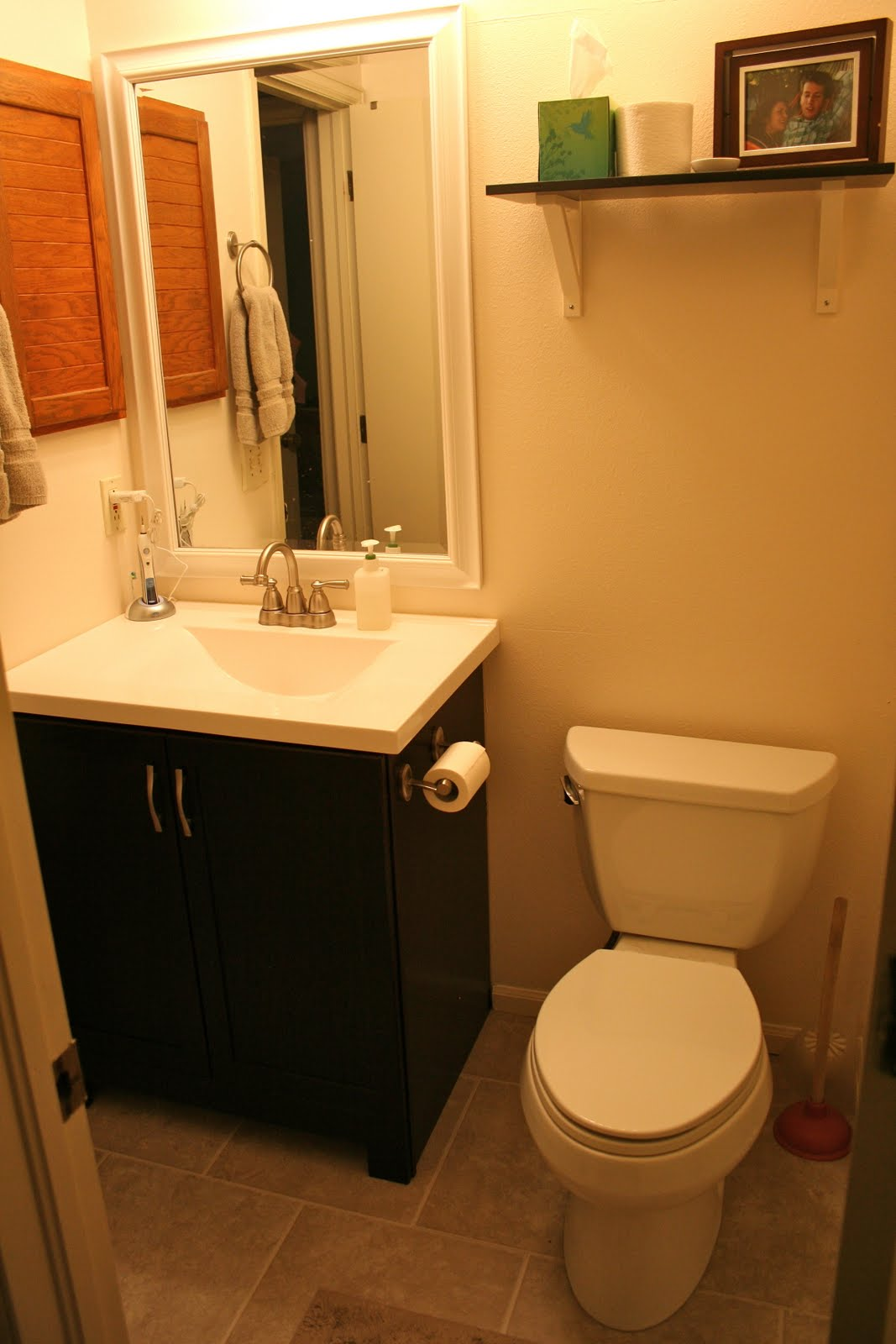 Things we swear happened diy bathroom remodel - Diy bathroom remodel before and after ...