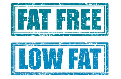 أغذية الريجيم الخالية من الدهون