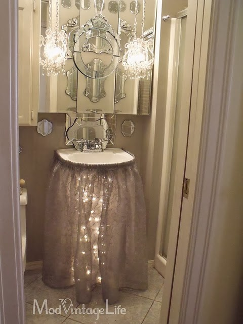 Bathroom Decorating Ideas For Christmas shabby in love: bathroom decorating ideas for christmas
