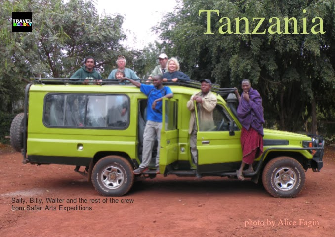 Safari Arts  Expeditions Jeep Tanzania African..Photo: Alice Fagin for TravelBoldly.com