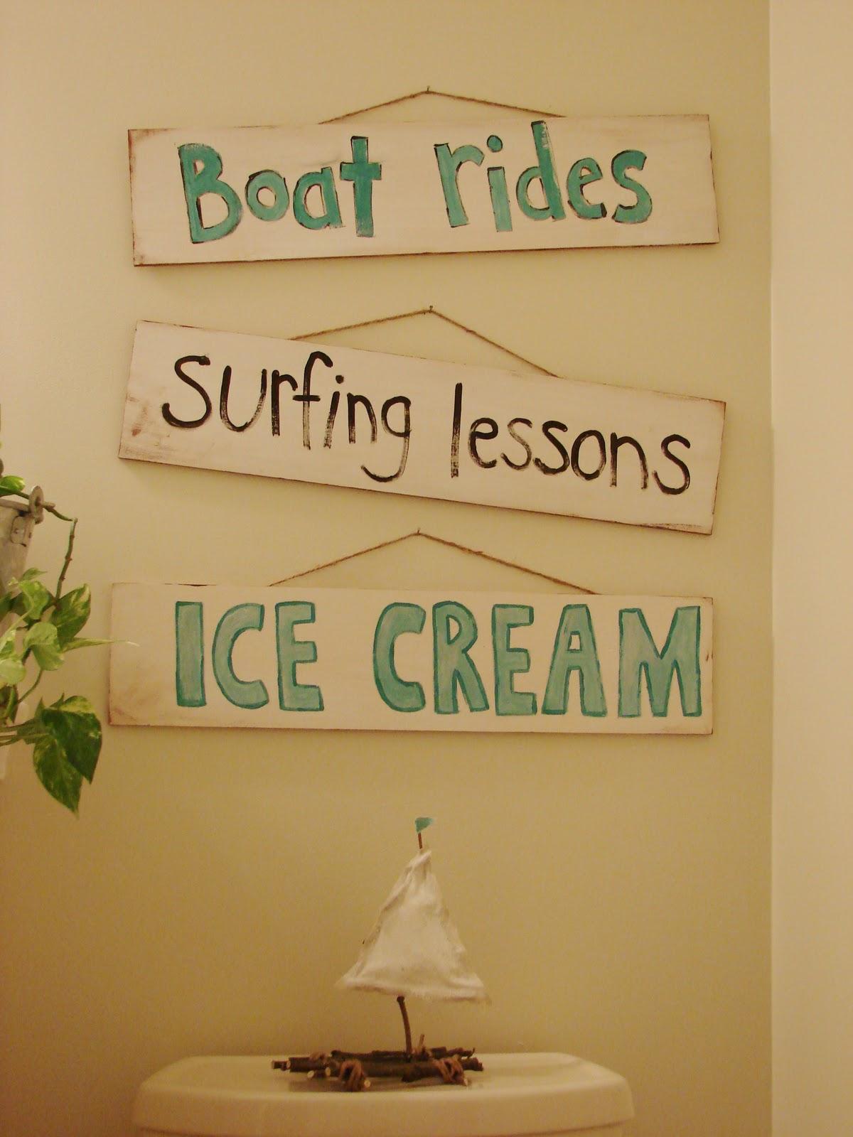 Kids Bathroom Sign
