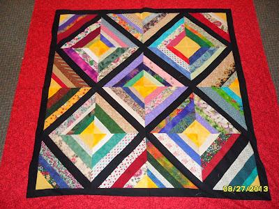 foundation string quilt