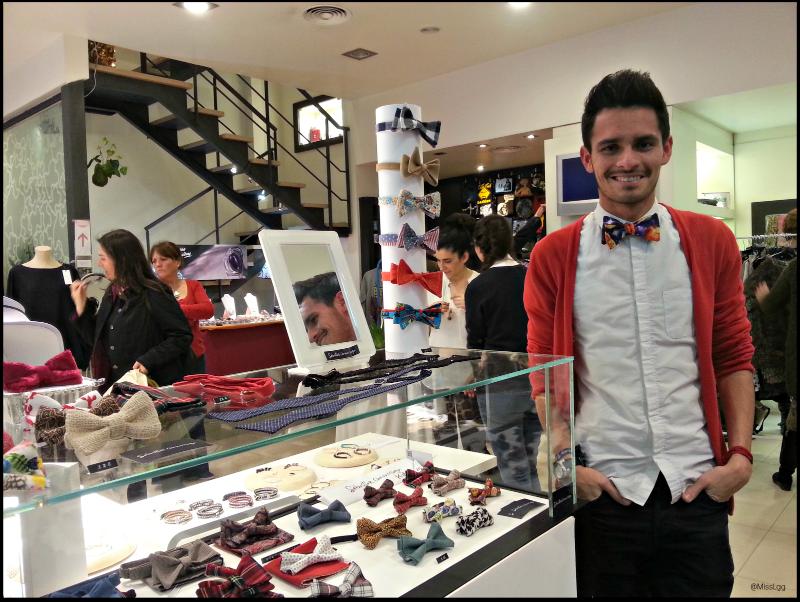 Sebastian Chavarriaga pajaritas diseñador bow tie design artesanal cosido a mano