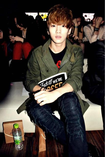 SHINee Key Seoul Fashion Week 2011