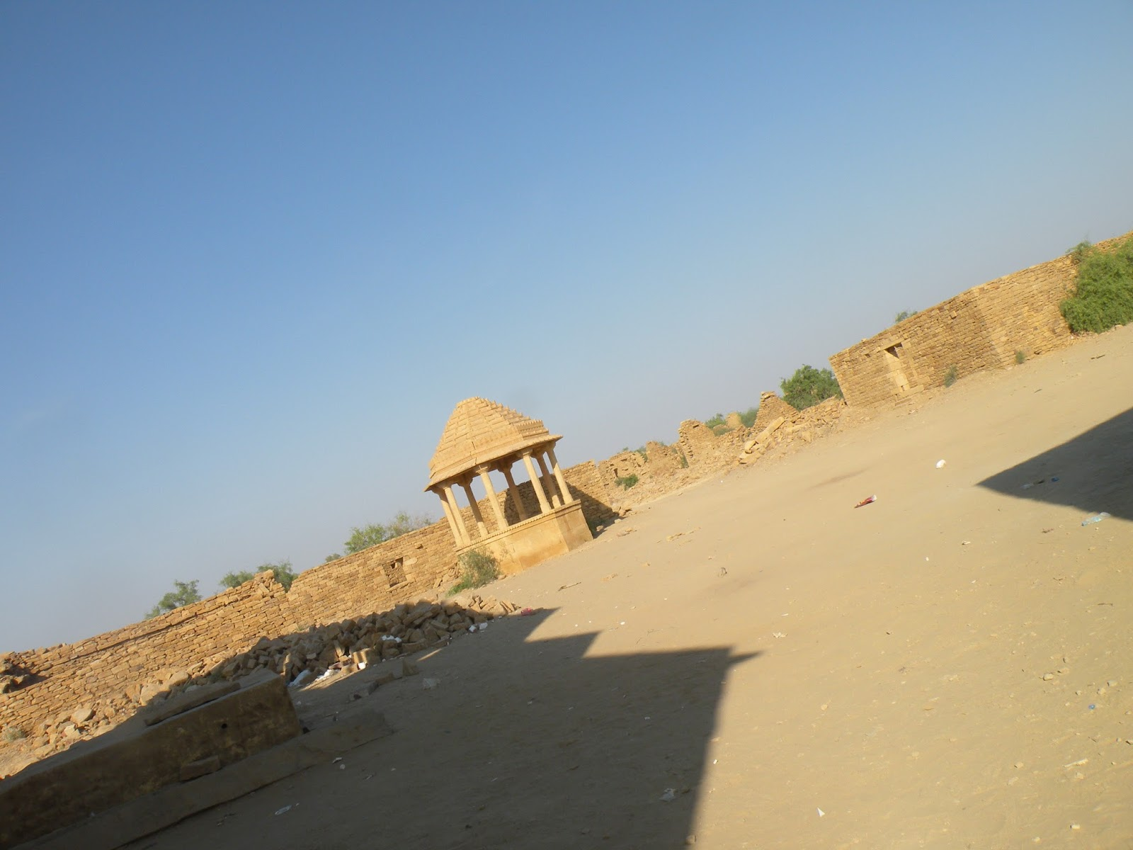 Abandoned village in Rajasthan near Jaisalmer, Kuldhara
