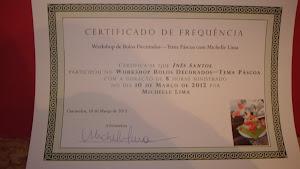 Diploma - Formação com Michelle Lima