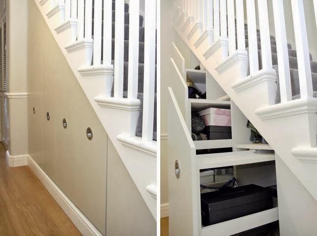 Qu colocar en el espacio debajo de las escaleras casas for Como utilizar el espacio debajo de las escaleras