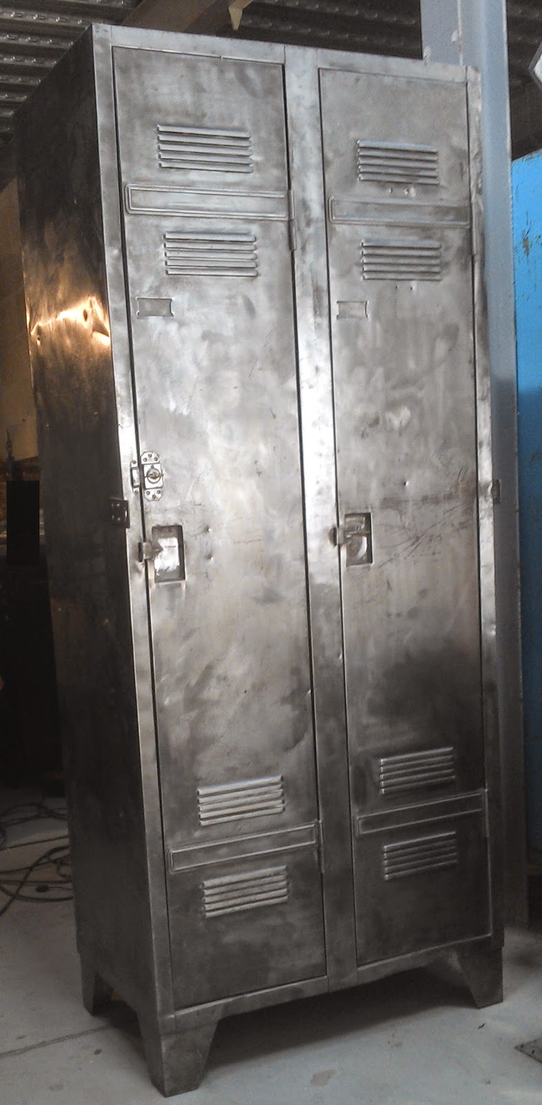 Meuble de m tier vestiaire - Meuble metal industriel loft ...