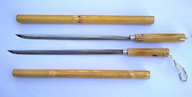 Pedang rotan asli