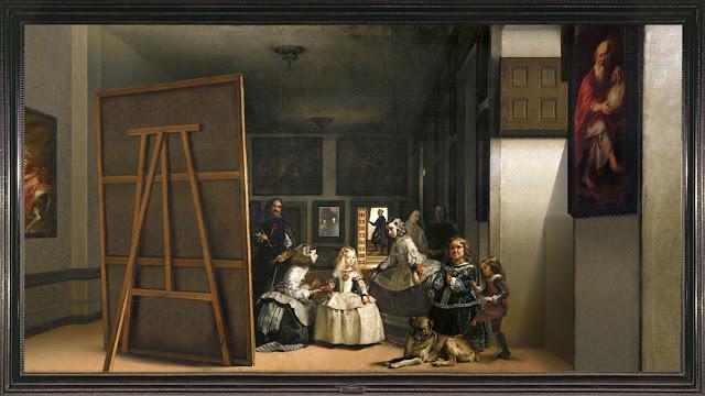 Las Meninas de Velázquez extendida