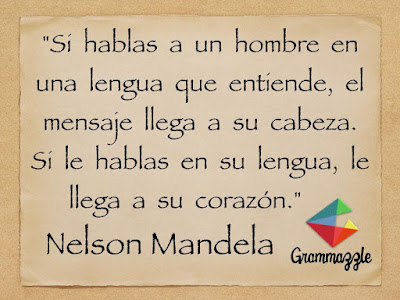 Grammazzle Frases inspiradoras sobre Educación Nelson Mandela