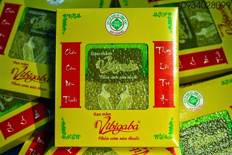 Gạo mầm vibigaba phân phối bởi An Giang
