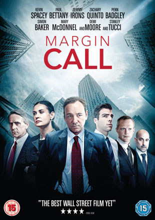 Margin Call Poster Blu-ray