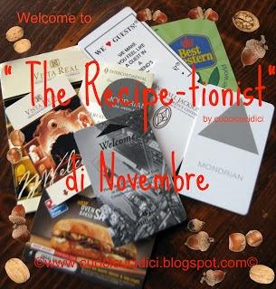 Le vostre ricette di Novembre