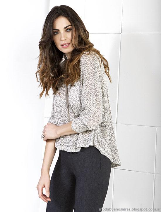 NMD otoño invierno 2015 blusas y camisas 2015.
