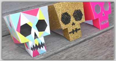 template for skulls by LornaLove
