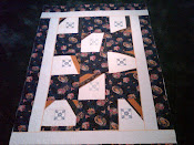 Crazy Quilt coming off frame