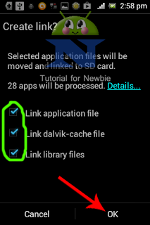 Move all apps to micro SD card's 2nd partition