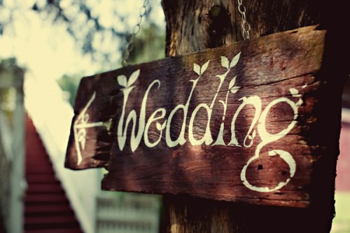 Rustic Country Wedding Ideas Barnboard Wedding Signs
