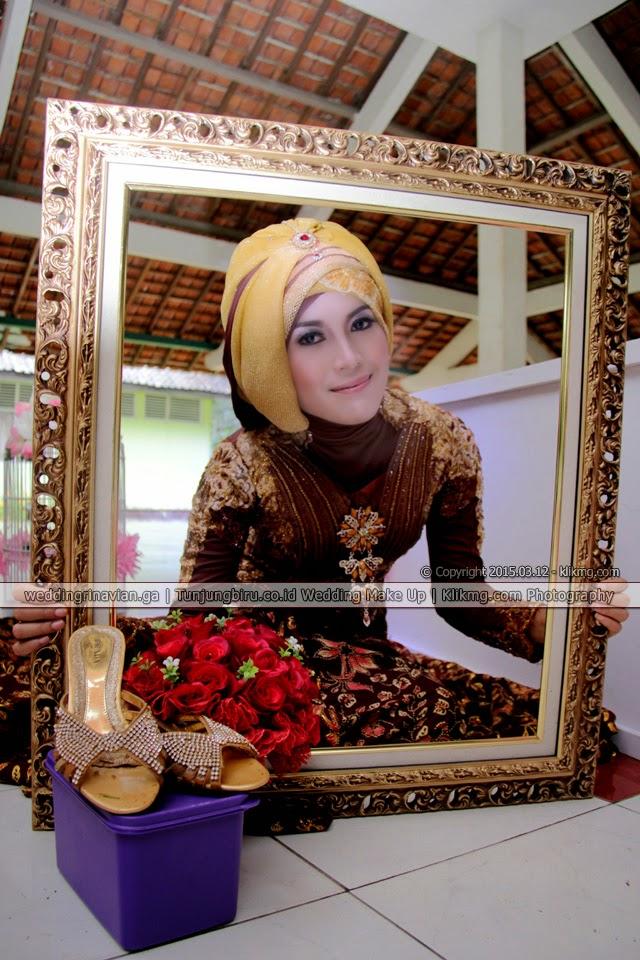 Simpel Hijab Coklat Menawan pada Prewedding Rina & Vian [ weddingrinavian.ga ] | Foto : Klikmg2 Fotografer Purwokerto