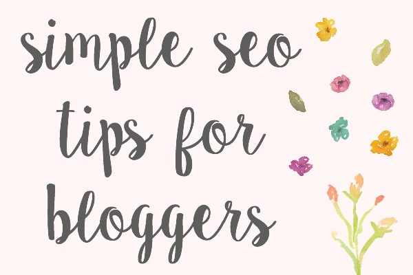 Simple SEO For Bloggers
