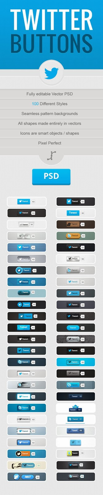 free-Twitter-Buttons