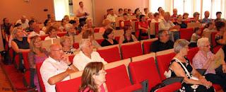 """Posjetitelji promocije knjige """"Moji dani"""", Gradska vijećnica u Velikoj Gorici"""