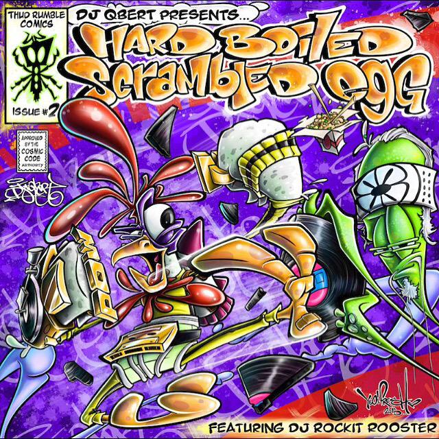 DJ QBERT - HARD BOILED SCRAMBLED EGG BREAK MIX 1 AND 2 | Stream und Free Download - Atomlabor Blog