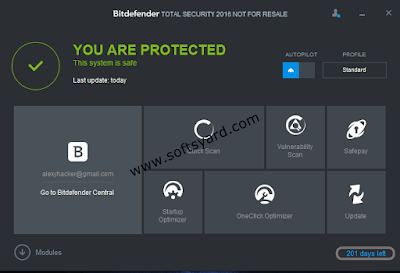 Bit Defender Total security 2016 Activation Code Free