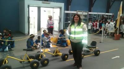 Niños participan del Programa de educación vial del ACA