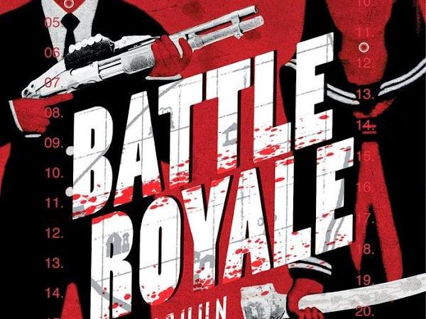 Battle Royale, de Koushun Takami e Globo Livros