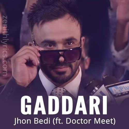 Gaddari by John Bedi, Doctor Meet