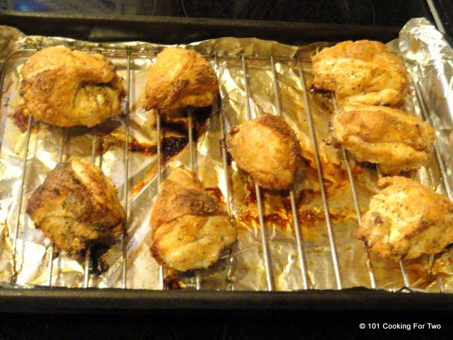 Oven Baked Crispy Garlic Bone-in Skin-on (Split) Chicken Breast | 101 ...