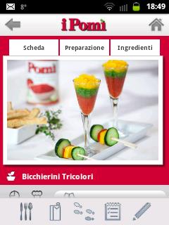 La mia ricetta per Pomì (App per Smartphone)