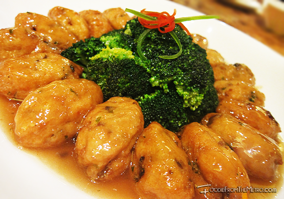 Foodie from the Metro - Mabuhay Palace Vegetarian Menu Bean Curd Broccoli