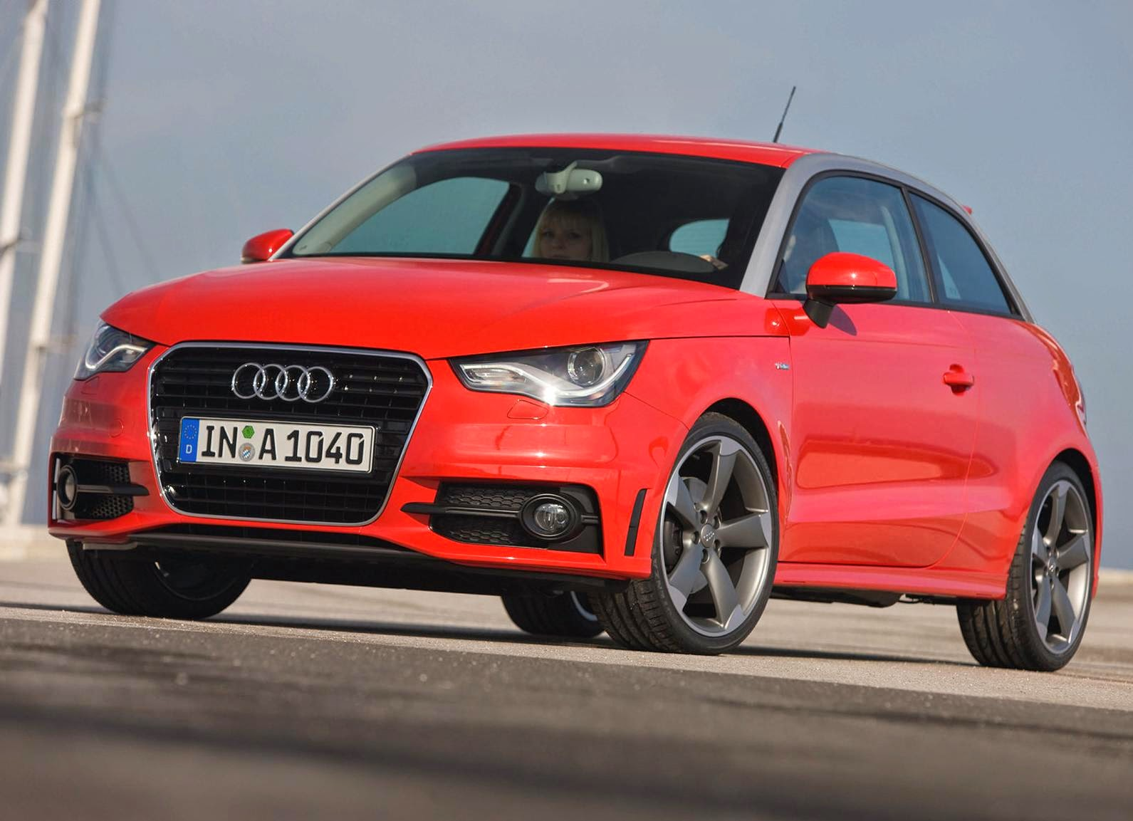 Audi A1 2011 Widescreen Wallpaper