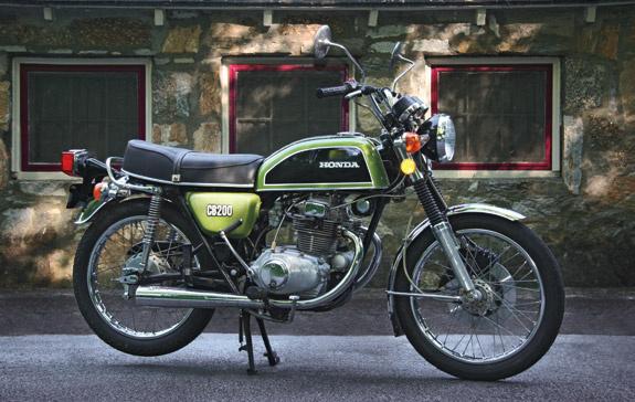 HELL ON WHEELS  Honda Cb200  Myth Bike