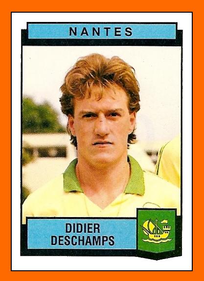 Old School Panini Les D 233 Buts De Didier Deschamps Au Fc Nantes