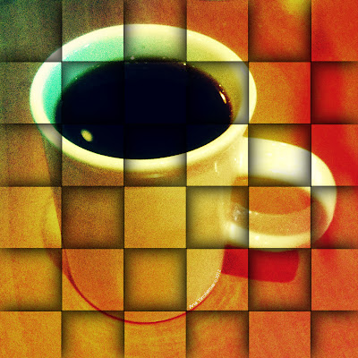 "Hot Coffee 02 - 10"" x 10"" Digital Art ©2012 Ana Tirolese - http://fineartamerica.com/featured/hot-coffee-02-ana-tirolese.html"